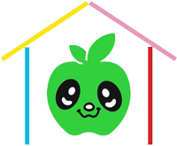 Micronido Green Apple Logo